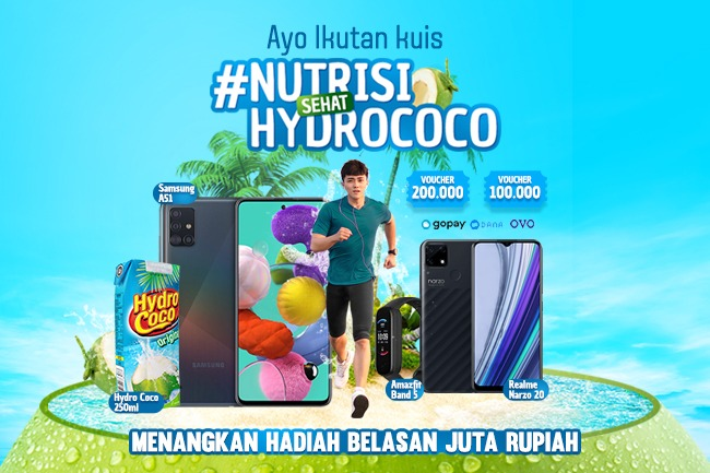 KUIS #NUTRISISEHATHYDROCOCO